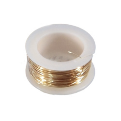 Beads stringing 0,64mm gold 7,3m