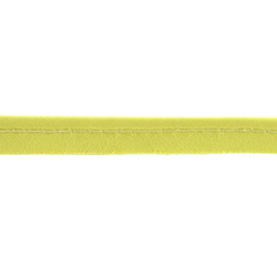 Piping ribbon cotton 4mm bright yellow 5