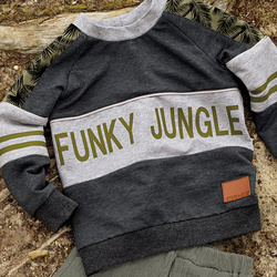 Funky jungle sjablong