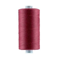 Sewing thread wine red 1000m