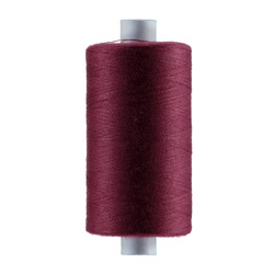 Sewing thread dark red 1000m