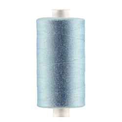 Sewing thread light blue 1000m