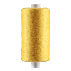 Sewing thread sunlight yellow 1000m