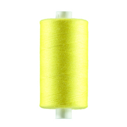 Sewing thread neon yellow 1000m