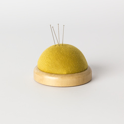 Pincushion DIY 65mm wood/foam 1pcs