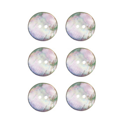 Button mother of pearl 20mm 6 pcs