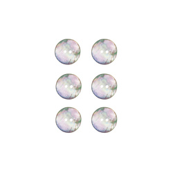 Button mother of pearl 12mm 6 pcs