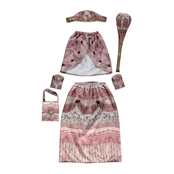 Digitalprint - Princess costume 3-8years