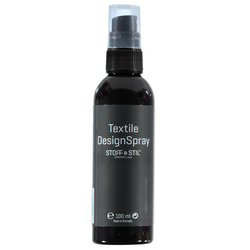 Tekstilmaling Design Spray sort 100ml