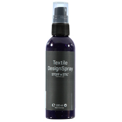 Tekstilmaling Design Spray lilla 100ml