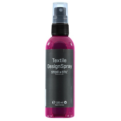 Tekstilmaling Design Spray rosa 100ml