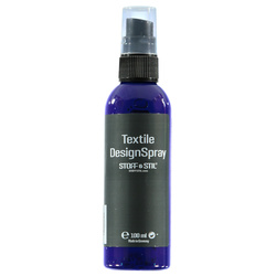 Tekstilmaling Design Spray blå 100ml
