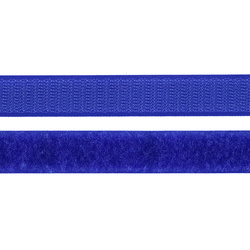 Hook and Loop tape 20mm cobolt blue 50cm