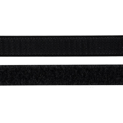 Hook and Loop tape 20mm black 50cm