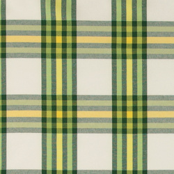 Yarn dyed green check