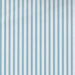 Non-woven oilcloth blue/white stripes