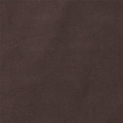 Upholstery fake suede dark brown