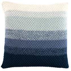 Tone-on-tone cushion cover