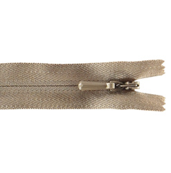 YKK zip 5mm invisible coil sand