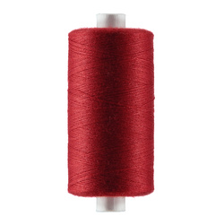 Sewing thread christmas red 1000m