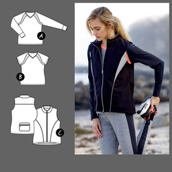 Sportstop and -vest