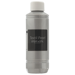 Textile paint Pearl 250ml silver
