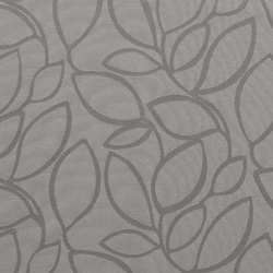 Jacquard grey w leaves
