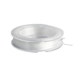 Elastic cord 0,8mm white 10m