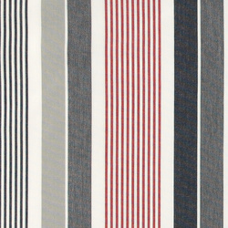 Dralon maritime striped Teflon coated