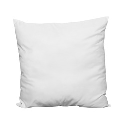 Cushion w/fibre filling 90x90cm white