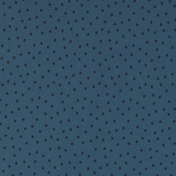 Stretch jersey dusty blue w petite stars