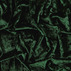 Stretch velour shiny dark bottle green