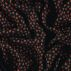 Woven viscose dark navy w small hearts