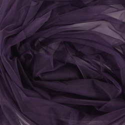 Soft tulle dark purple