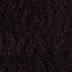 Fake long haired fur bordeaux 50 mm