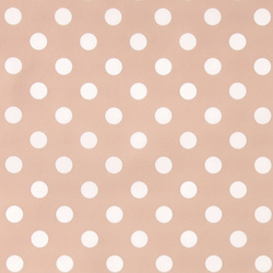 Non-woven oilcloth powder w white dots