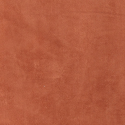 Imitated suede terracotta soft