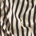 Upholstery black/offwhite stripes