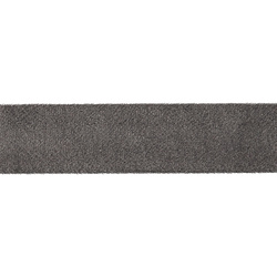 Straight cut tape velour 30mm grey 5m