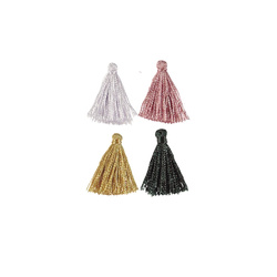Pendant 2cm 4 colors tassels 4pcs