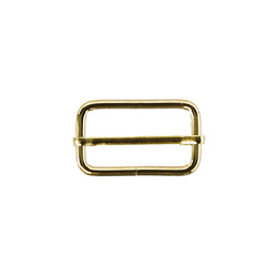Buckle heavy 38mm shiny gold 1 pc