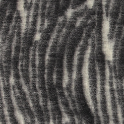 Wool felt with zebra stripes