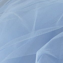 Tulle light blue