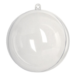 Ball plastic 100mm divisible 1 pcs.