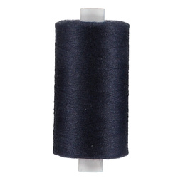 Sewing thread dark navy 1000m