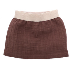 SKIRT WITH ELASTICATED WAIST