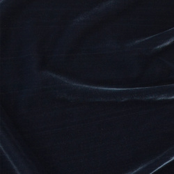 Woven viscose velvet midnight blue