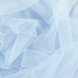 Soft tulle light blue