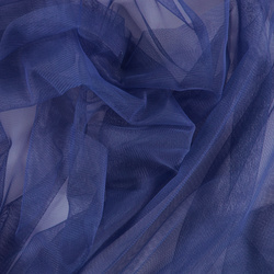 Soft tulle cobolt blue