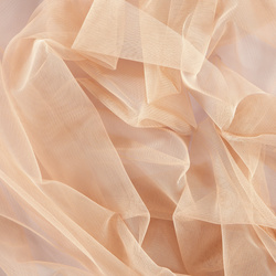 Soft tulle powder